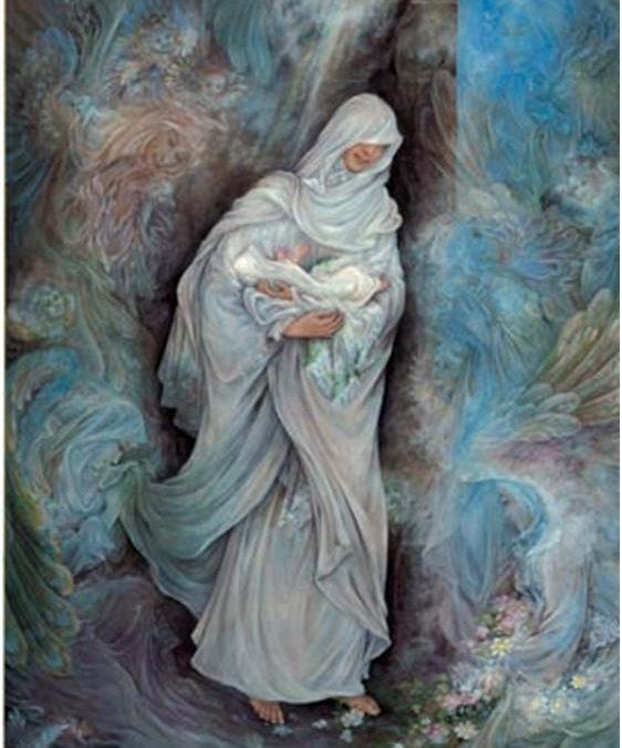 بين فاطمة بنت أسد وفاطمة بنت حزام الكلابية (سلام الله عليهما)